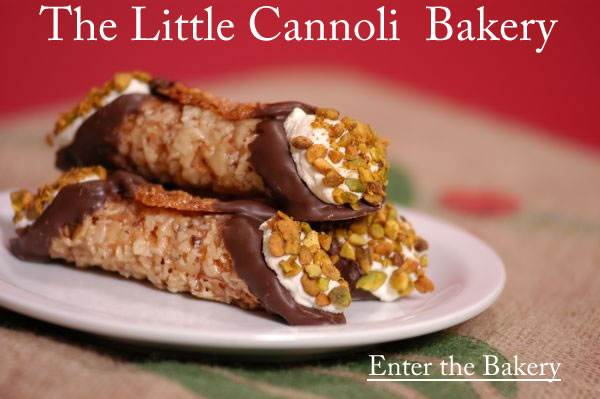 The Little Cannoli Bakery, Salem Oregon ENTER